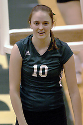 27 October 2006: Titan Jill Kissinger. The Bears won the match 3 games to 1. The match between the Washington University Bears and the Illinois Wesleyan Titans took place at Shirk Center on the IWU campus in Bloomington Illinois.<br />