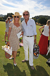 PATTI BOYD and ROD WESTON at a cricket match to in aid of CARE - Corfu Animal Rescue Establishment held at Hawkley Cricket Club, Hawkley, Hampshire on 8th September 2012.