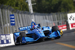 July 15, 2018 - Toronto, Ontario, Canada - ED JONES (10) of the United Arab Emirates battles for position during the Honda Indy Toronto at Streets of Toronto in Toronto, Ontario. (Credit Image: © Justin R. Noe Asp Inc/ASP via ZUMA Wire)
