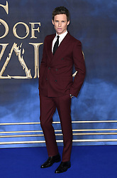 Eddie Redmayne attending the Fantastic Beasts: The Crimes of Grindelwald UK premiere held at Leicester Square, London. Photo credit should read: Doug Peters/EMPICS