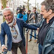 """NLD/Amsterdam/20170413 - boekpresentatie """"Buurman, wat doet u nu"""", Dick Maas en Huub Stapel"""