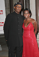 Samuel L Jackson; Sophia Davis FitFlop Shooting Stars Benefit closing ball, The Royal Courts of Justice, Strand, London, UK, 05 August 2011:  Contact: Rich@Piqtured.com +44(0)7941 079620 (Picture by Richard Goldschmidt)