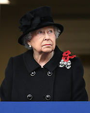 Members of The Royal Family attend Remembrance Sunday - 12 Nov 2017