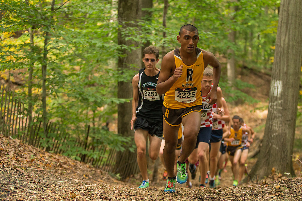 Rowan University Rajinder Singh - Collegiate Track Conference  Cross-Country Men's Championship at Gloucester County College in Sewell, NJ on Saturday October 19, 2013. (photo / Mat Boyle)