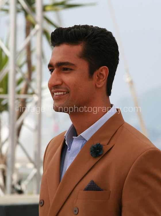 Actor Vicky Kaushal at the Masaan film photo call at the 68th Cannes Film Festival Tuesday May 19th 2015, Cannes, France.