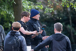 Director: Danny Boyle. Trainspotting2 filming at Ferry Road.