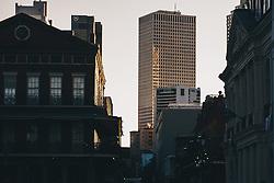 THEMENBILD - Blick auf den Finanzbezirk, aufgenommen am 04.01.2019, New Orleans, Vereinigte Staaten von Amerika // view of the financial district, New Orleans, United States of America on 2019/01/04. EXPA Pictures © 2019, PhotoCredit: EXPA/ Florian Schroetter
