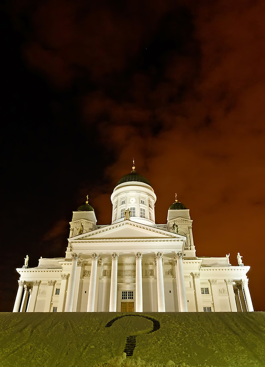 Finland - Lutheran cathedral in Helsinki