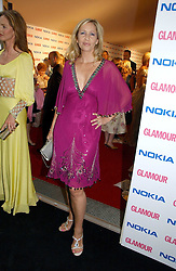 TANIA BRYER at the 2006 Glamour Women of the Year Awards 2006 held in Berkeley Square Gardens, London W1 on 6th June 2006.<br />