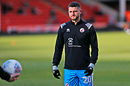 Jamie Sendles-White before the EFL Sky Bet League 2 match between Walsall and Crawley Town at the Banks's Stadium, Walsall, England on 18 January 2020.
