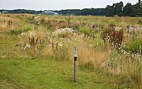 SOMEREN - 150meter paaltje. De Swinkelsche Golfbaan. FOTO KOEN SUYK