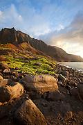 Kalalau Valley, Napali Coast, Kauai, Hawaii