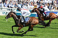 HAMISH (6) ridden by James Doyle and trained by William Haggas winning The Sky Bet Melrose Handicap Stakes over 1m 6f (£125,000)  during the Ebor Festival at York Racecourse, York, United Kingdom on 24 August 2019.