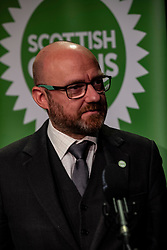 Pictured: Patrick Harvie overcame some technical issues to launch the conference.<br /><br />Scottish Greens co-leaders Patrick Harvie MSP and Lorna Slater held a media conference prior to the partry's Autumn Conference which takes place on-line from today till Sunday 25 October.  <br /><br />Ger Harley | EEm 23 October 2020