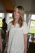Penny Lancaster Stewart , The Veuve Clicquot Gold Cup 2007. Cowdray Park, Midhurst. 22 July 2007.  -DO NOT ARCHIVE-© Copyright Photograph by Dafydd Jones. 248 Clapham Rd. London SW9 0PZ. Tel 0207 820 0771. www.dafjones.com.