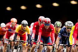 September 22, 2017 - Bergen, NORWAY - 170922 Kristoffer Halvorsen of Norway competes during the Men Under 23 Road Race on September 22, 2017 in Bergen..Photo: Vegard Wivestad GrÂ¿tt / BILDBYRN / kod VG / 170024 (Credit Image: © Vegard Wivestad Gr¯Tt/Bildbyran via ZUMA Wire)