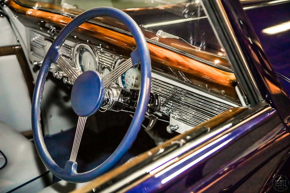 """""""Parts From The Past 44"""" - Abstract photograph of automobile parts, shot with special permission at the National Automobile Museum in Reno, Nevada. <br /> <br /> Available as prints but not as stock photography."""