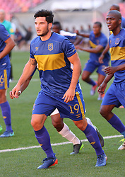 Roland Putsche of Cape Town City during the 2016 Premier Soccer League match between Chippa United and Cape Town City held at the Nelson Mandela Bay Stadium in Port Elizabeth, South Africa on the 19th November  2016.<br /> <br /> Photo by:   Richard Huggard / Real Time Images