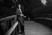 Jonathan Madison poses for his portrait at Bayfront Park in Millbrae, California, on April 21, 2014. (Stan Olszewski/SOSKIphoto)