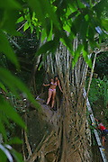 Kipu Falls, Kauai, Hawaii, (editorial use only, no model release)<br />