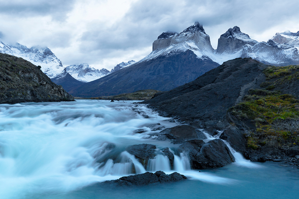 """Morning light at the waterfall - Patagonia, Argentina<br /> <br /> 18"""" x 12""""<br /> <br /> See pricing page for details.<br /> <br /> Please contact me for custom sizes and print options including canvas wraps, metal prints, assorted paper options, etc. <br /> <br /> I enjoy working with buyers to help them with all their home and commercial wall art needs."""