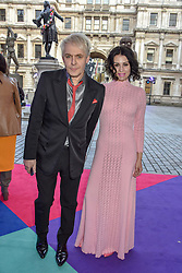 Nick Rhodes and Nefer Suvio at The Royal Academy of Arts Summer Exhibition Preview Party 2019, Burlington House, Piccadilly, London England. 04 June 2019.