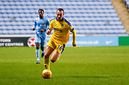 Wimbledon midfielder Dylan Connolly (16) in action  during the EFL Sky Bet League 1 match between Coventry City and AFC Wimbledon at the Ricoh Arena, Coventry, England on 12 January 2019.