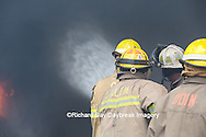 63818-02614 Firefighters at oilfield tank training, Marion Co., IL