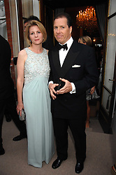 VISCOUNT & VISCOUNTESS LINLEY at the Ark 2007 charity gala at Marlborough House, Pall Mall, London SW1 on 11th May 2007.<br />