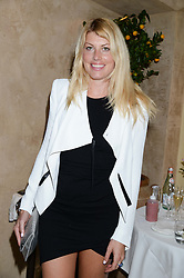 MEREDITH OSTROM at an evening of Dinner & Dancing at Daphne's, 112 Draycott Avenue, London SW3 on 24th July 2013.