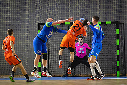 during friendly handball match between Slovenia and Nederland, on October 25, 2019 in Športna dvorana Hardek, Ormož, Slovenia. Photo by Blaž Weindorfer / Sportida