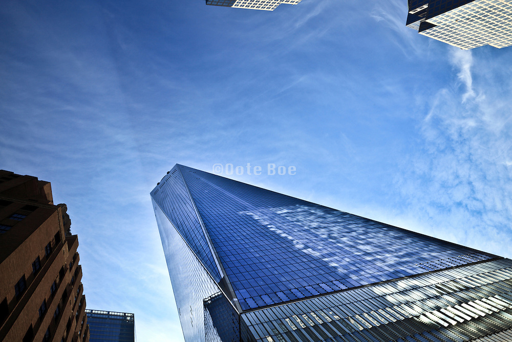 One World Trade Center also called the Freedom Tower in New York City