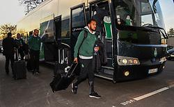 February 13, 2019 - Saint Etienne, France - SALIBA William ( Saint Etienne ) - Arrivee des joueurs de ASSE (Credit Image: © Panoramic via ZUMA Press)