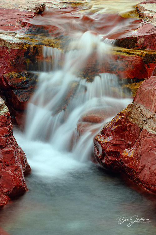 Red Rock Canyon, Waterton Lakes National Park, Alberta, Canada