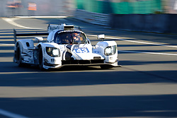 June 18, 2017 - Le Mans, Sarthe, France - Keating Motorsports .Riley MK30 - Gibson rider RICKY TAYLOR (USA) in action during the race of the 24 hours of Le Mans on the Le Mans Circuit - France (Credit Image: © Pierre Stevenin via ZUMA Wire)