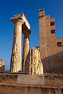 The Greek Doric Temple of Aphaia (500BC).  Aegina, Greek Saronic Islands .<br /> <br /> If you prefer to buy from our ALAMY PHOTO LIBRARY  Collection visit : https://www.alamy.com/portfolio/paul-williams-funkystock/aegina-greece.html Type -    Babylon  - into the LOWER SEARCH WITHIN GALLERY box to refine search by subject etc<br /> <br /> Visit our ANCIENT GREEKS PHOTO COLLECTIONS for more photos to download or buy as wall art prints https://funkystock.photoshelter.com/gallery-collection/Ancient-Greeks-Art-Artefacts-Antiquities-Historic-Sites/C00004CnMmq_Xllw