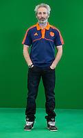 DEN BOSCH - assistent coach RUSSELL GARCIA . Nederlands Hockeyteam  voor nieuwe platform Hockey.nl.    FOTO KOEN SUYK