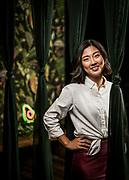 30239376A Nashville, Tenn. - Avo owner Annie Choo poses for a portrait inside her plant based restaurant.