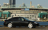 MY07 Subaru Liberty GT SPEC B  - Obsideon Black.Shot on location in Port Melbourne, Victoria .7th October 2006.(C) Joel Strickland Photographics.Use information: This image is intended for Editorial use only (e.g. news or commentary, print or electronic). Any commercial or promotional use requires additional clearance.