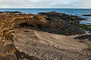 Tuff Lava<br /> Santiago Island, GALAPAGOS ISLANDS<br /> ECUADOR.  South America