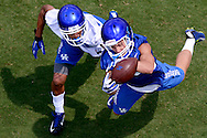 Scenes from the 2015 Kentucky Football Fan Day.<br /> <br /> Photo by Elliott Hess   UK Athletics