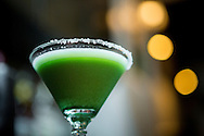 Margarita matcha drink at the Ishinohana Bar Shibuya,Tokyo, Japan