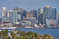 Downtown San Diego & Harbor Island