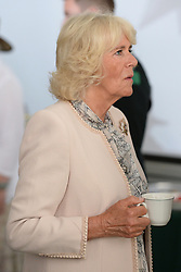 The Duchess of Cornwall during a visit to the Canadian Army Advanced Warfare Centre at Canadian Forces Base Trenton in Quinte West, Ontario, during day two of their visit to Canada.