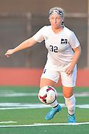 Amherst at Magnificat girls varsity soccer at Rocky River High. Photo copyright © David Richard / davidrichardphoto.com