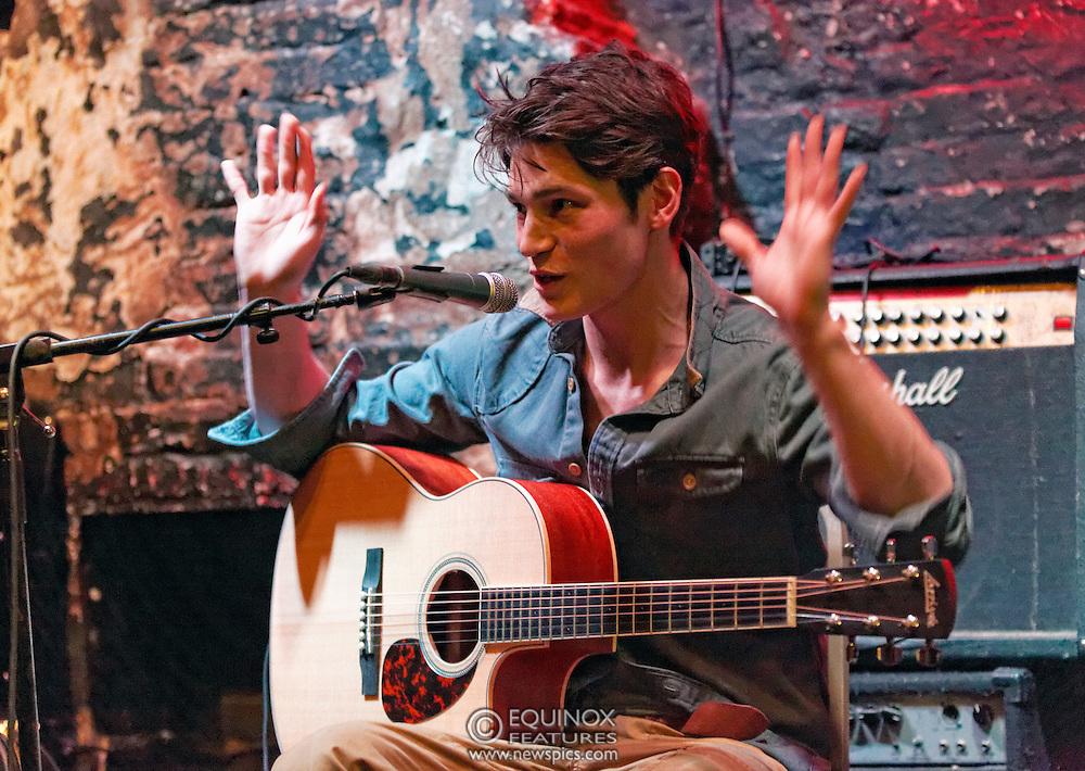 London, United Kingdom - 11 April 2013.Musician and model Sam Way performing at 12 Bar Club, Soho, London, England, UK..Contact: Equinox News Pictures Ltd. +448700780000 - Copyright: ©2013 Equinox Licensing Ltd. - www.newspics.com.Date Taken: 20130411 - Time Taken: 210458