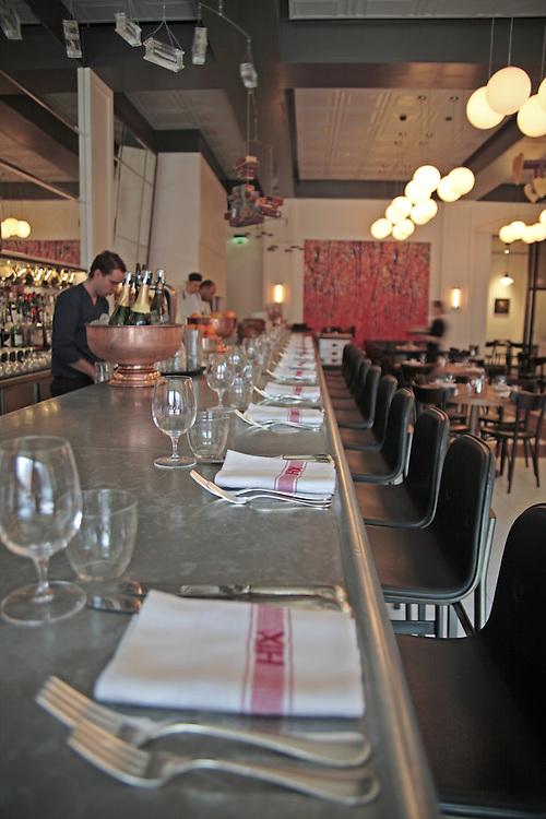 Interior, HIX Restaurant, 66-70 Brewer St, Soho, London, United Kingdom.CREDIT: Vanessa Berberian for The Wall Street Journal.HIX