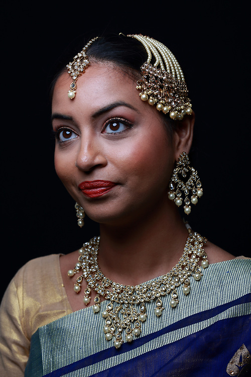 Kundan Jewellery Photo Shoot. Model - Rajni