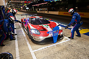 June 10-16, 2019: 24 hours of Le Mans.  67 FORD CHIP GANASSI TEAM UK, FORD GT, Jonathan BOMARITO,  Harry TINCKNELL, Andy PRIAULX pitstop