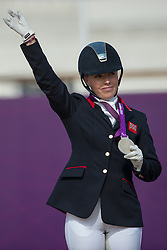 Sophie Wells (GBR) - Pinocchio<br /> Individual Freestyle - Grade IV<br /> London 2012 Paralympic Games<br /> © Hippo Foto - Jon Stroud